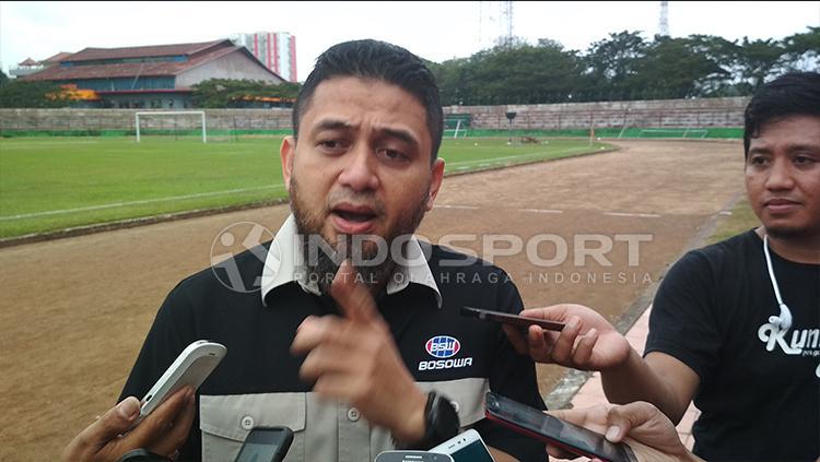 CEO PSM Makassar, Munafri Arifuddin. Copyright: Muhammad Basri/INDOSPORT