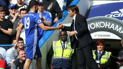 Antonio Conte dan Diego Costa.