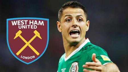 Javier Hernandez akan memperkuat West Ham United pada musim 2017/18. - INDOSPORT