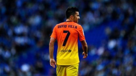Eks pemain Barcelona, David Villa. - INDOSPORT