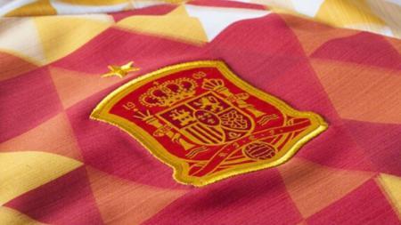 Logo Timnas Spanyol. - INDOSPORT