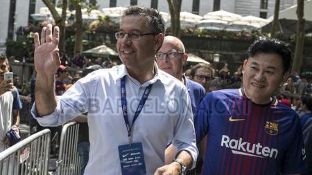 Presiden Barcelona, Josep Maria Bartomeu. - INDOSPORT