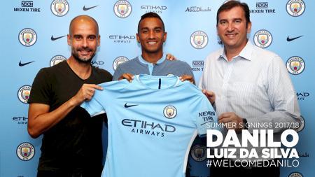 Danilo Luiz da Silva (Manchester City). - INDOSPORT