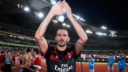 Leonardo Bonucci saat melakukan debut bersama AC Milan. - INDOSPORT