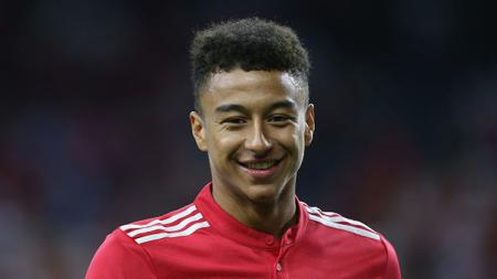 Gelandang Manchester United, Jesse Lingard. - INDOSPORT