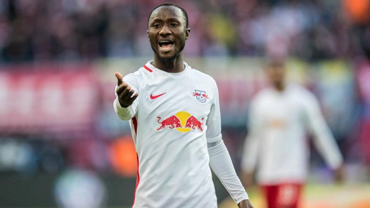 Naby Keita, gelandang RB Leipzig. Copyright: Indosport