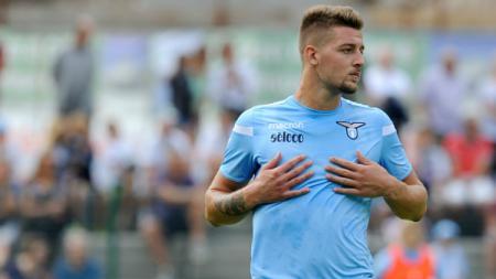 Gelandang tengah Lazio, Sergej Milinkovic-Savic. - INDOSPORT