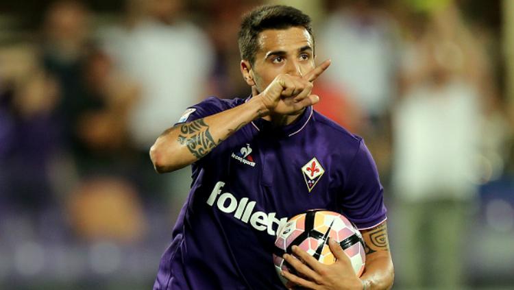 Gelandang tengah Fiorentina, Matias Vecino. Copyright: Indosport