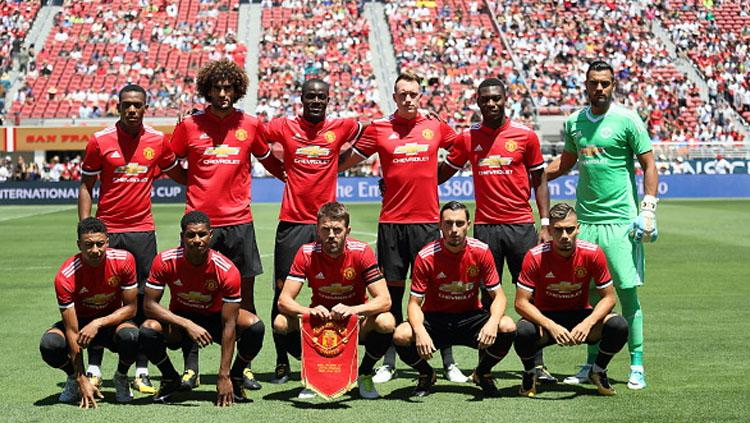 Skuat Manchester United. Copyright: INDOSPORT
