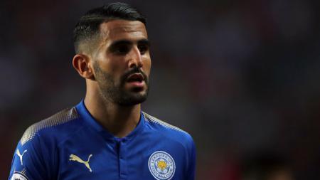 Riyad Mahrez, gelandang serang Leicester City. - INDOSPORT