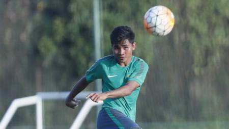 Pemain Timnas U-22, Asnawi Mangkualam. - INDOSPORT