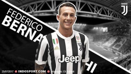 Pemain anyar Juventus, Federico Bernardeschi. - INDOSPORT