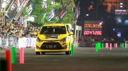 Gelaran Asia Auto Gymkhana Competition (AAGC) 2017 yang berlangsung di Jalan Pahlawan, Semarang, Jawa Tengah.