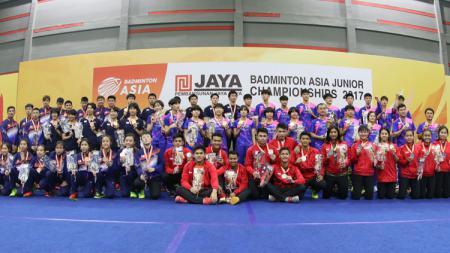 Asia Junior Championships 2017. - INDOSPORT