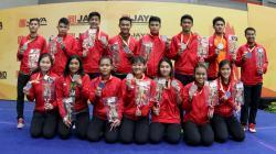 Indonesia merebut posisi runner up dalam Asia Junior Championship 2017.