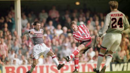 Jersey Manchester United 1995-96. - INDOSPORT