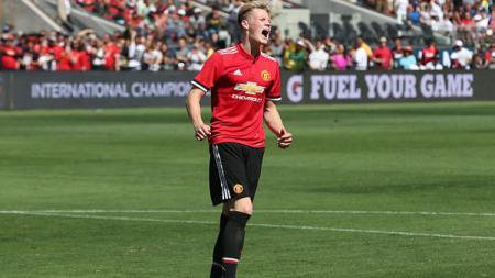 Gelandang muda Manchester United, Scott McTominay. - INDOSPORT