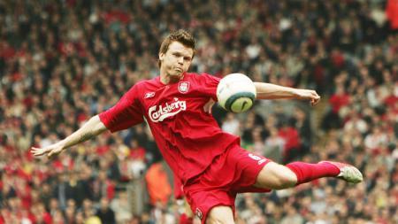 Legenda Liverpool, John Arne Riise, mengalami kecelakaan mobil dan dirawat di rumah sakit. - INDOSPORT