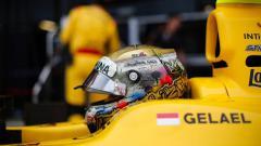 Indosport - Sean Gelael jelang balapan di hungaroring.