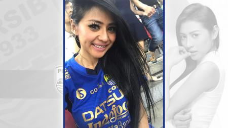 Model cantik asal Indonesia yang juga merupakan Bobotoh, Jelly Jelo. - INDOSPORT