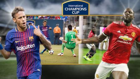 Neymar dan Romelu Lukaku. - INDOSPORT