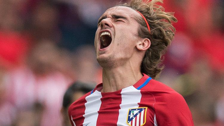 Striker andalan Atletico Madrid, Antoine Griezmann. Copyright: Power Sport Images/Getty Images