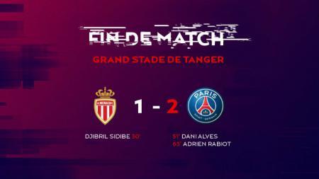 Paris Saint-Germain memenangi Piala Super Prancis dengan skor 2-1 atas AS Monaco. - INDOSPORT
