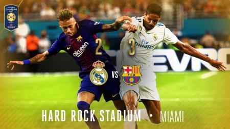 Real Madrid 2-3 Barcelona ICC 2017 - INDOSPORT