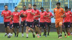Indosport - Borneo FC jalani latihan jelang putaran kedua Liga 1.