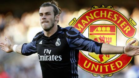 Gareth Bale dikabarkan tertarik untuk bergabung ke Manchester United. - INDOSPORT