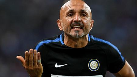 Luciano Spalletti merasa kecewa dengan permainan tim besutannya, Inter Milan saat melawan Chelsea. - INDOSPORT