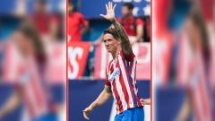 Indosport - Fernando Torres memutuskan pensiun di Atletico Madrid.