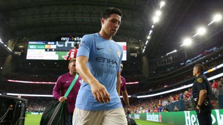 Gelandang Manchester City, Samir Nasri. - INDOSPORT