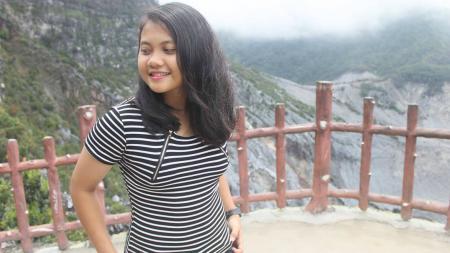 Deliana Iman Dwi Gita, wasit perempuan asal Bandung. - INDOSPORT