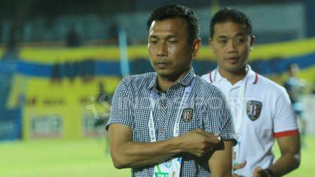 Pelatih Bali United, Widodo Cahyono Putro. - INDOSPORT