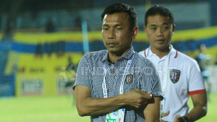 Pelatih Bali United, Widodo Cahyono Putro. Copyright: Ian Setiawan/INDOSPORT