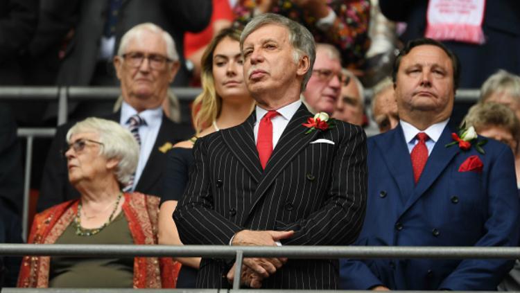 Stan Kroenke, pemilik Arsenal. Copyright: Indosport