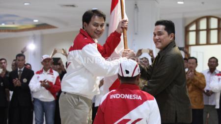 Pengukuhan Kontingen Indonesia SEA Games 2017. - INDOSPORT
