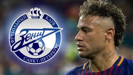 Zenit St. Petersburg disebutkan juga tertarik untuk merekrut Neymar. - INDOSPORT