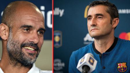 Dianggap sukses kalahkan Guardiola dan punya 1 hal penting jadi alasan Barcelona tertarik gantikan Ernesto Valverde dengan Quique Setien. - INDOSPORT