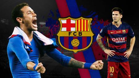 PSG bakal jumpa Barcelona di Liga Champions, Neymar kirim pesan berkelas ke Lionel Messi. - INDOSPORT