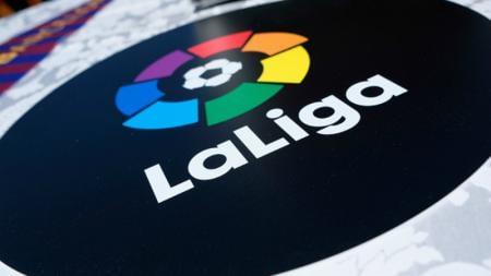 Logo LaLiga Spanyol. - INDOSPORT
