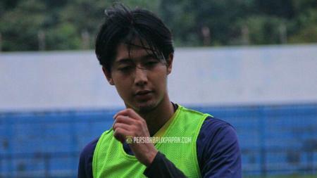 Ryutaro Karube saat menjalani tes di Persiba Balikpapan. - INDOSPORT