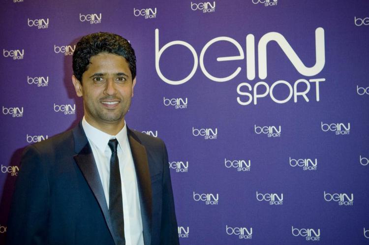 Nasser Al-Khelaifi Copyright: foot01.com