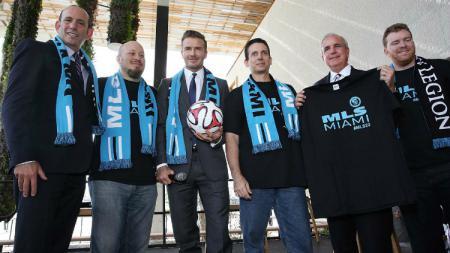 David Beckham, pemilik Miami MLS. - INDOSPORT
