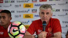 Indosport - Ivan Kolev di sesi konferensi pers.