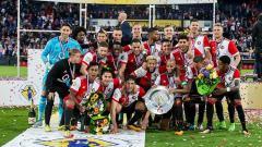 Indosport - Feyenoord raih juara Piala Johan Cruyff.