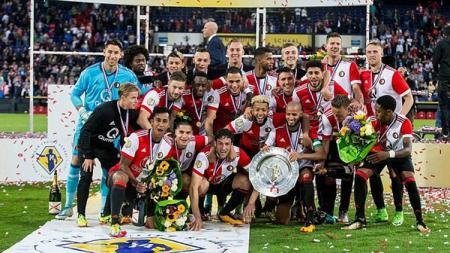 Klub Eredivisie Belanda, Feyenoord, resmi mendatangkan gelandang muda potensial asal Portugal, Bernardo Silva dari Benfica pada bursa transfer musim panas. - INDOSPORT