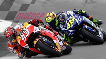 Marc Marquez berhasil meraih pole position di Sirkuit Le Mans dan menyamai rekor Valentino Rossi. - INDOSPORT