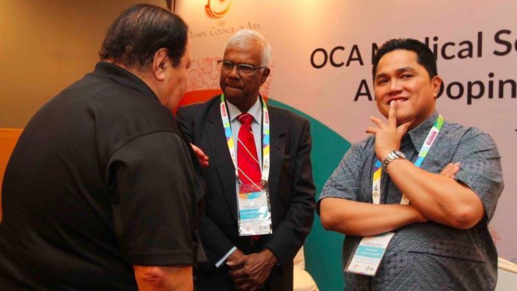 OCA Medical dan Anti Doping Asian Games 2017 bersama INASGOC. Copyright: INASGOC